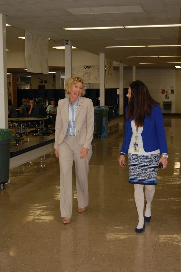 OH State Board of Education President Visit to OFCS