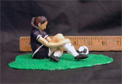 "Honorable Mention, Elaina Haviland, gr.11 (Sculpture, ""Getting Ready"")"