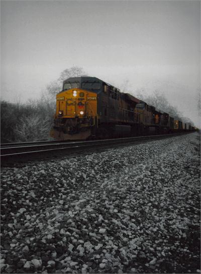 "Honorable Mention, Cassidy Rearick, gr.10 (Photograph, ""Train"")"