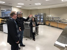 Photo of Tour of Olmsted Falls High School Cafeteria Facilities