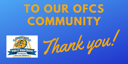 Thank you OFCS Community