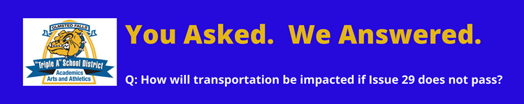 You Asked. We Answered. Transportation.