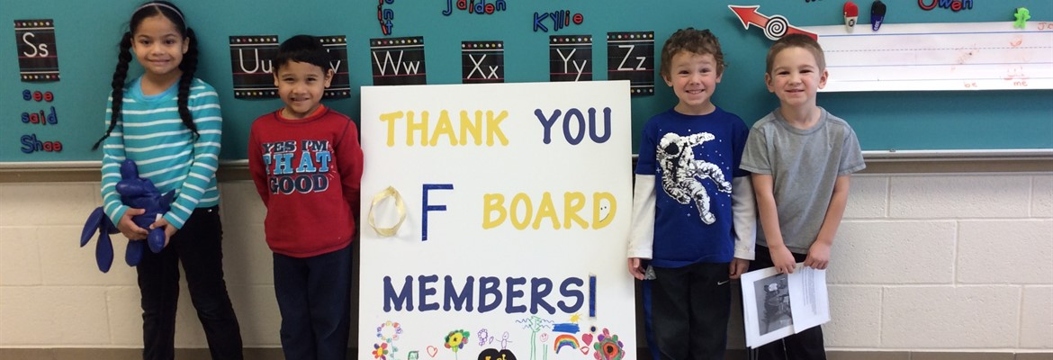 ECC Students Thank BOE During School Board Recognition Month