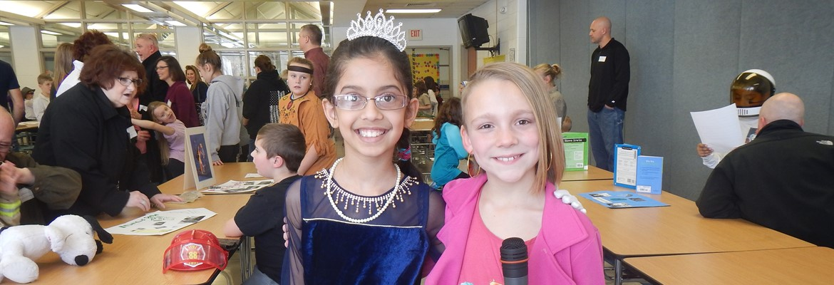 Annual Wax Museum brings history to life as students present research reports by personally portraying their historical person of interest.