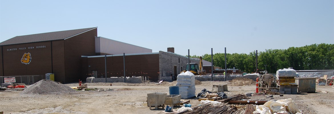 Expansion of OFHS music wing underway