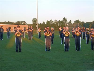 Marching band Preview Night